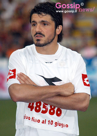 INTERNATIONAL FOOTBALL PLAYERS: Gennaro Gattuso, the Italian ...