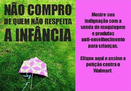 Grupo Cria apoia ação contra Walmart