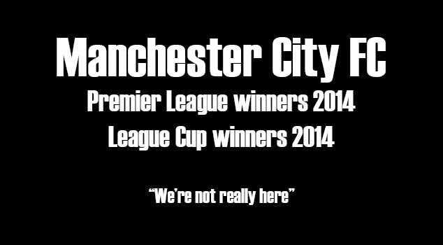 Manchester City inhemsk dubbel 2014, Premier League vinnare 2014, Ligacupvinnare 2014