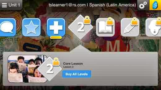 تطبيق مجاني للأيفون والأيباد والأيبود لتعلم 24 لغة مختلفة Learn Languages: Rosetta Stone iOS
