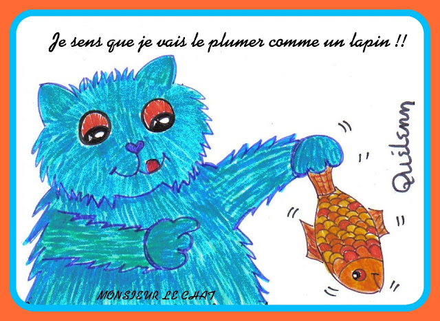 dessin de Monsieur LE CHAT