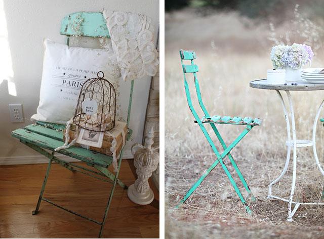 Sedie Francesi Usate : Arredare vintage le sedie in stile bistrot francese home shabby