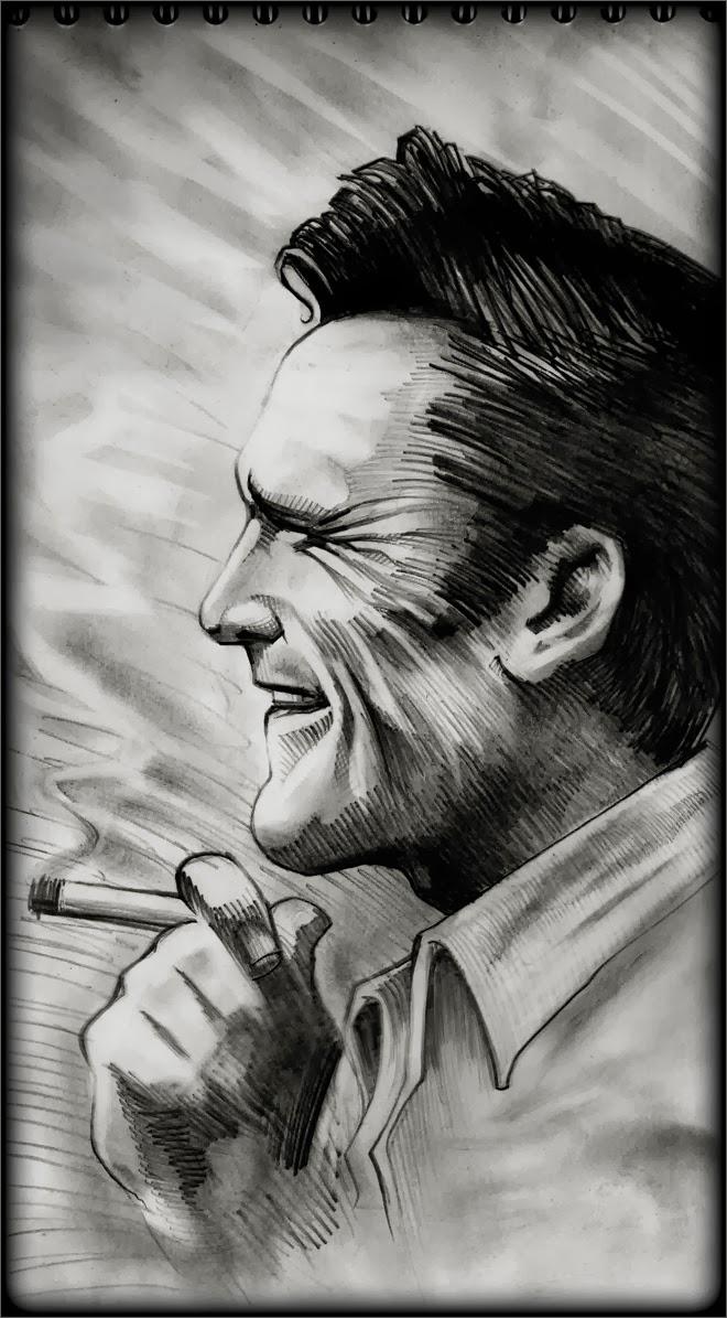 Michael Madsen by Regis Lagoeyte