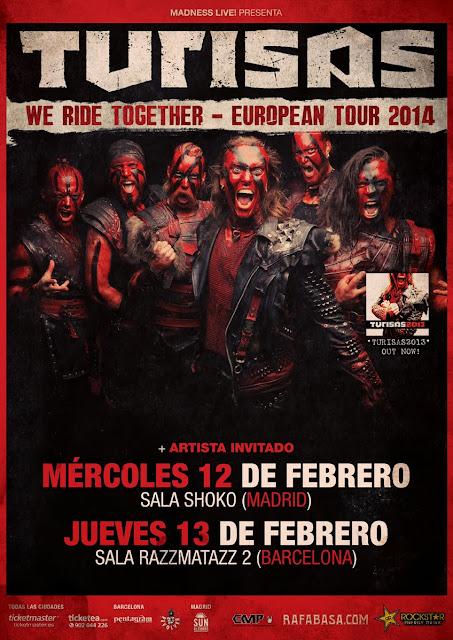 http://www.madnesslive.es/2013/09/turisas-presentando-nuevo-album-en-febrero/
