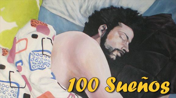 Hemos llegado al centenar de sueños publicados - ilustración: fragmento de un retrato del autor realizado por la pintora Eva Román