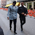 ENTERTAINMENTS: Peter Okoye & Samuel Eto'o Spotted On London Streets!