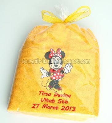 Souvenir Ulang Tahun Minnie Mouse - Tirsa