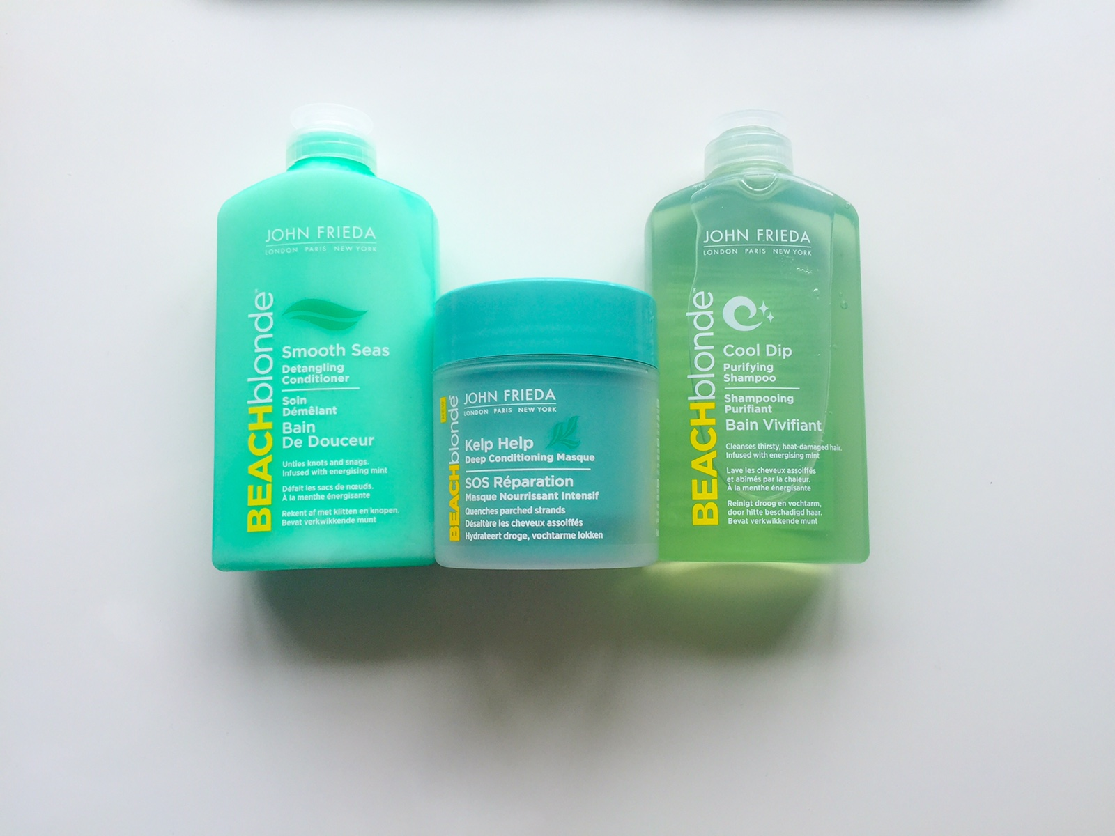 John Frieda Beach Blonde Products