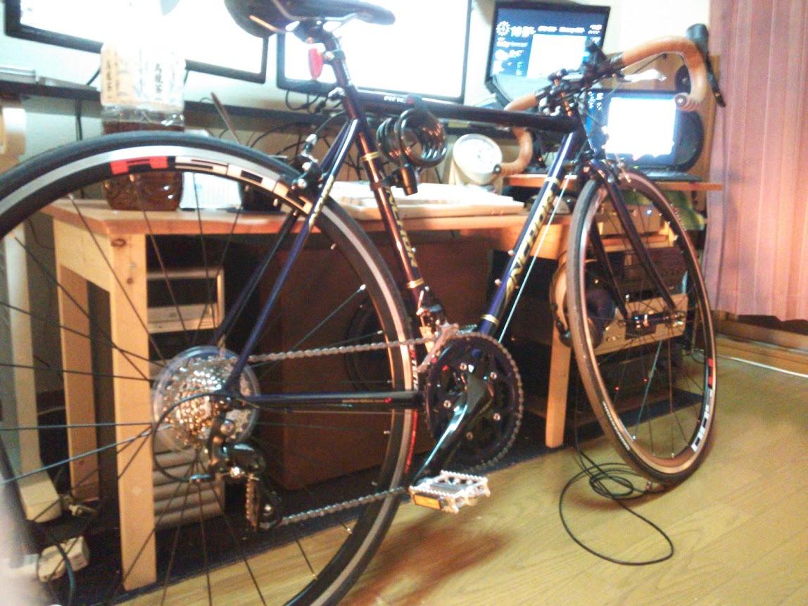 自転車の ネット 自転車 購入 : 自転車の縦置きスタンド自作 ...