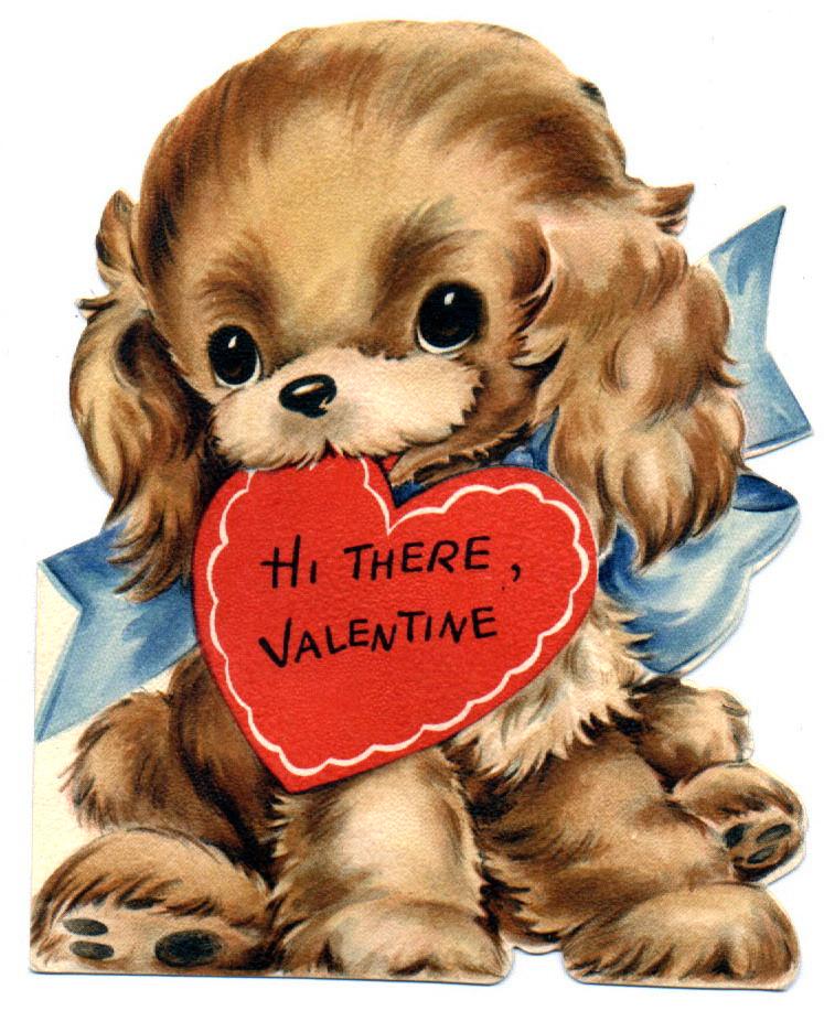 valentine puppy clipart - photo #39