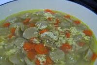 Resep Sup Bakso Serat Telur