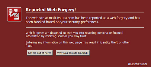 phishing%2Bwarning Cara Mengesan Laman Phishing/Laman Palsu Perbankan