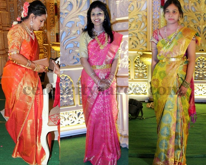 Colorful Traditional Sarees