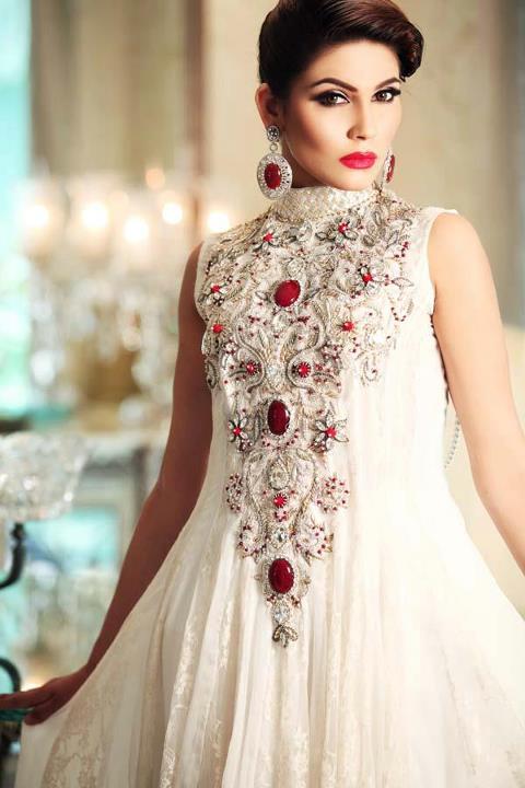 Pakistani formal dresses 2012 by teena by hina butt