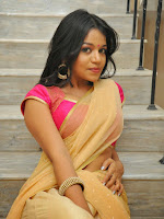 Actress Bhavya Sri sizzling Half Saree photos-cover-photo