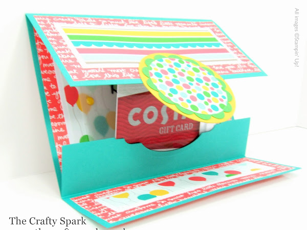7 Days of Teacher Treats for End of Year Gifts - #3 Gift Card Holder