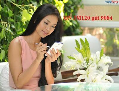 Đăng ký 3G Mobifone gói M120