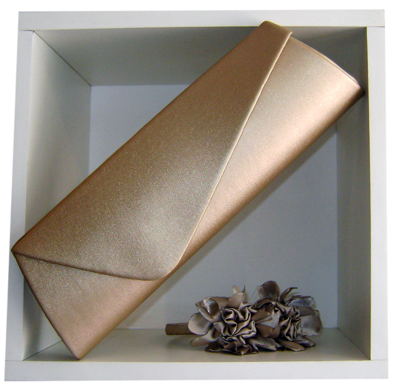 Bolsa Dourada De Festa :