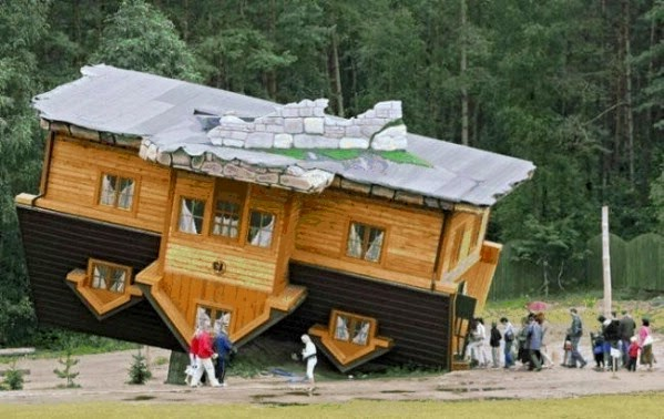 The Upside-down House