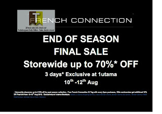 French Connection End Of Season Final SALE FCUK 2012
