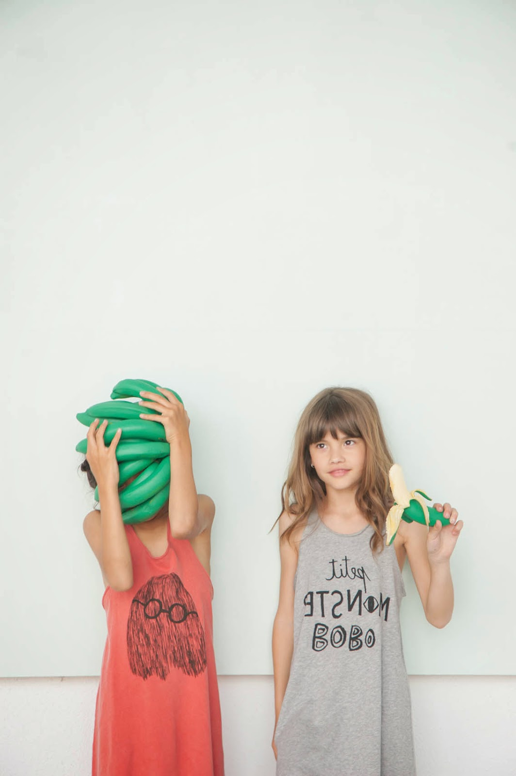 Bobo Choses Spring-Summer 2015 - sleeveless monster dresses