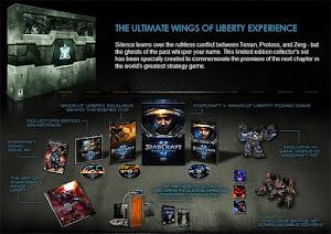UNIDADES DISPONIBLES A LA VENTA: STARCRAFT II: WINGS OF LIBERTY (EDICIÓN DE COLECCIONISTA)