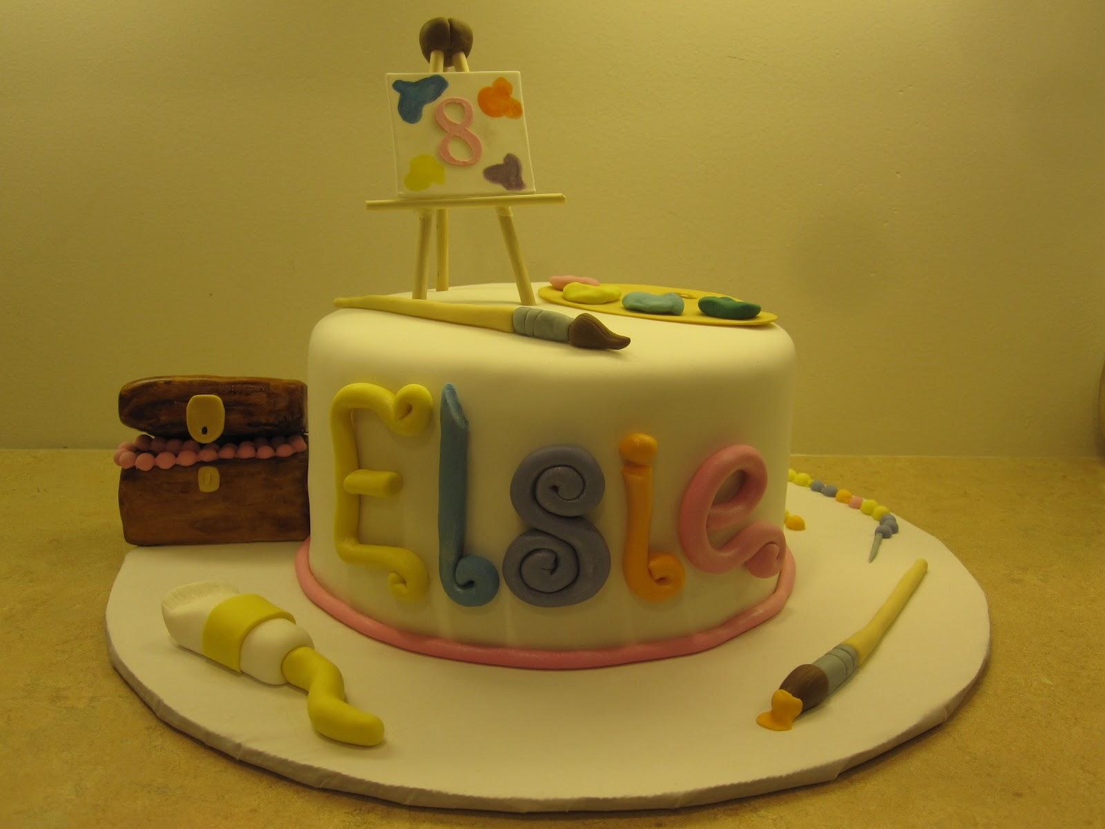 Cake Artist Painter : Artist / Painting Cake