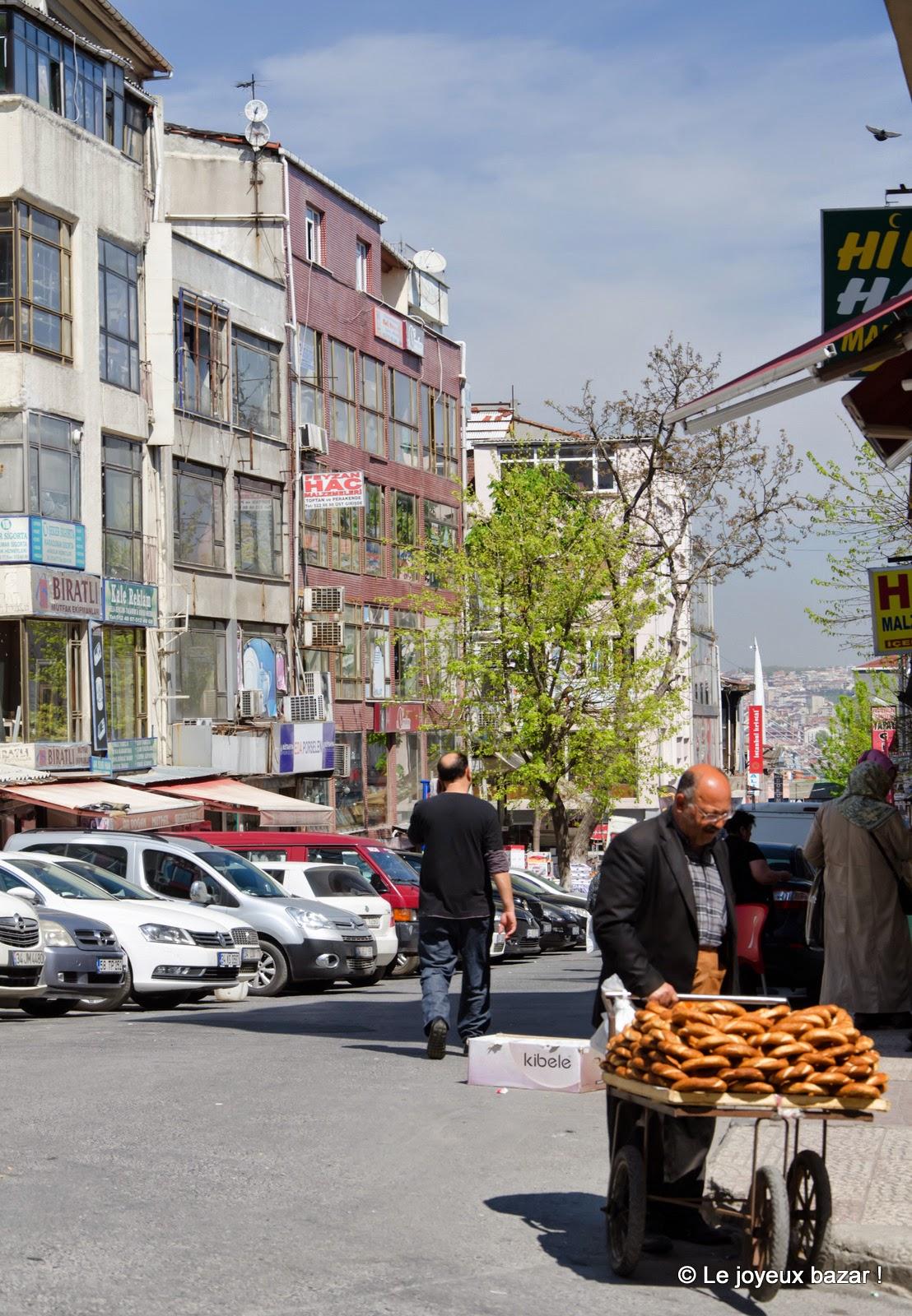 Istanbul - scène de rue
