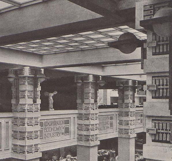 Larkin Building Frank Lloyd Wright FELICECALCHI: The Geni...