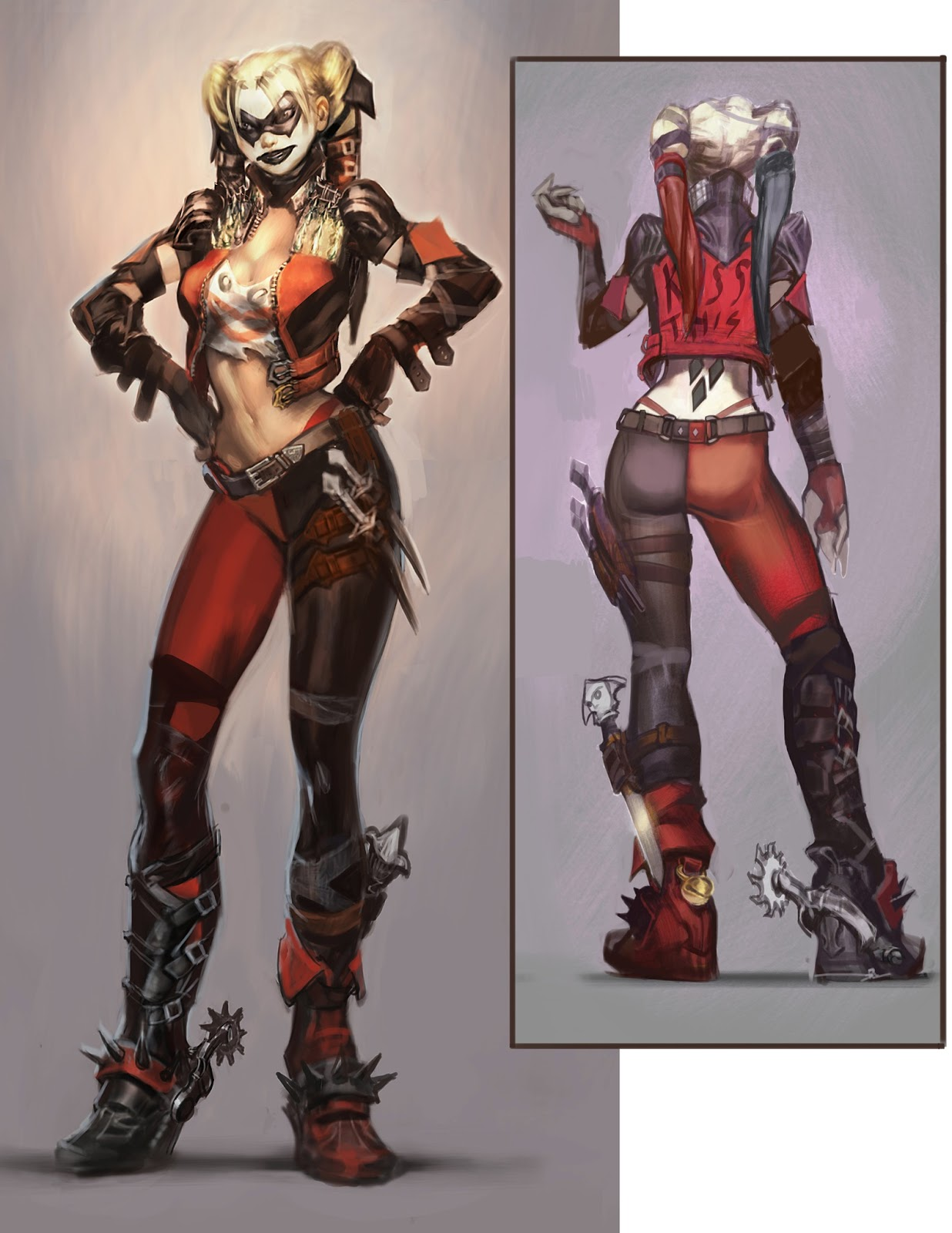 Harley Go Lightly! A Ha-ha-cienta For Harley Quinn The Injustice Of Harley Quinnu0026#39;s Costumes