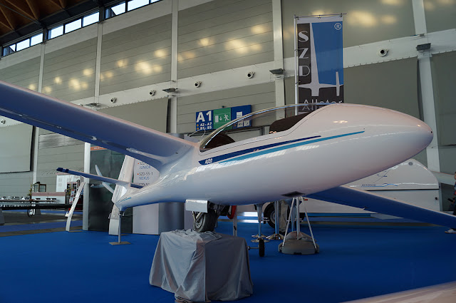 szd.com.pl SZD-59 Acro na Aero Friedrichshafen 2013