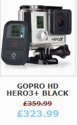GoPro HD Hero3+ Black Edition Hero 3 PLUS CHDHX-302 Action Sports Camera