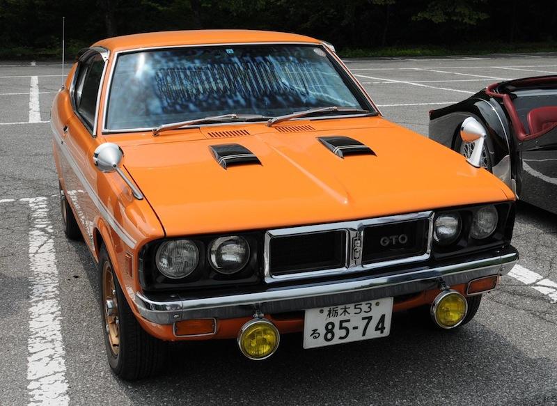Mitsubishi Galant GTO, stary japoński samochód, klasyk, dawny model, oldschool, zdjęcia, galeria