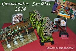 CAMPEONATOS SAN BLAS 2014