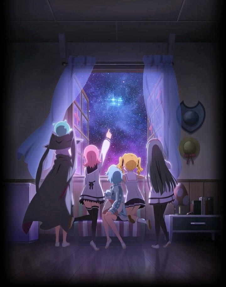 Revelado el opening y ending del anime Hokago no Pleiades de Gainax