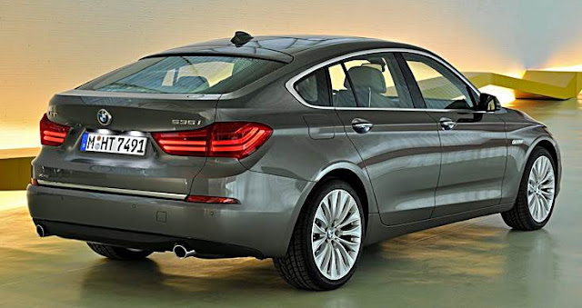 2017 BMW 5 Series Gran Turismo Rendered
