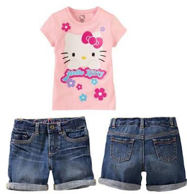 Model Setelan Baju Anak Branded Import