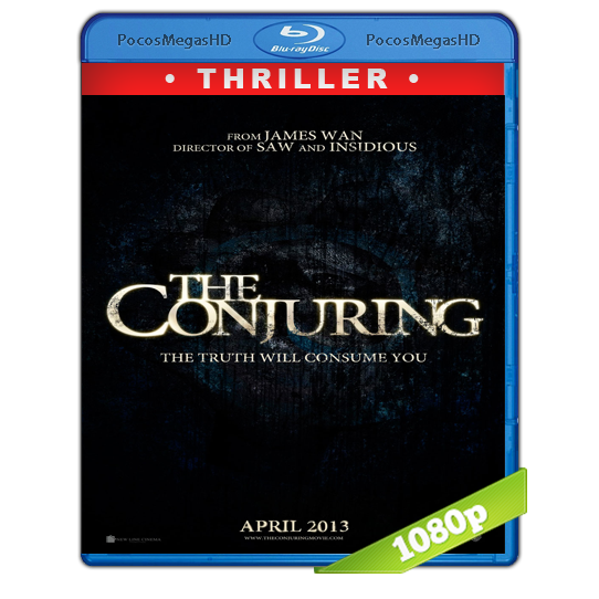 El Conjuro (2013) Full HD BRRip 1080p Audio Dual Latino/Ingles 5.1 (peliculas hd )