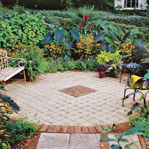 Southern Living Landscape Courtyard Design Ideas