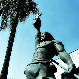Monumento a Sepé Tiaraju em São Luiz Gonzaga.