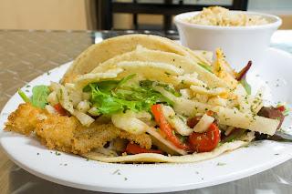 Fish Tacos, Jicama Slaw, Chipotle Mayonnaise