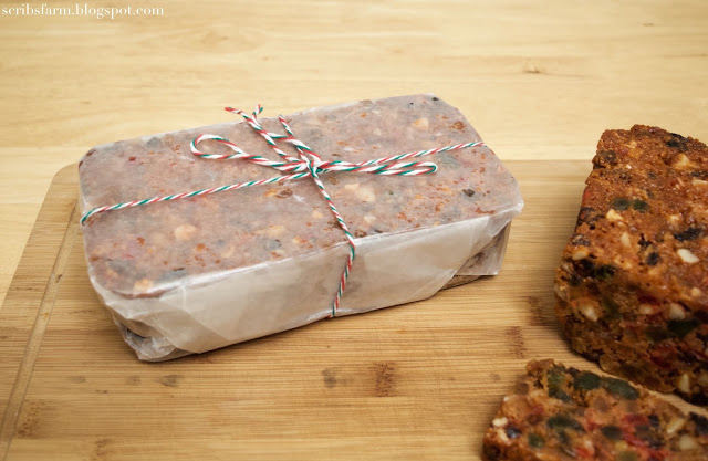 simple wrapping for food gifts