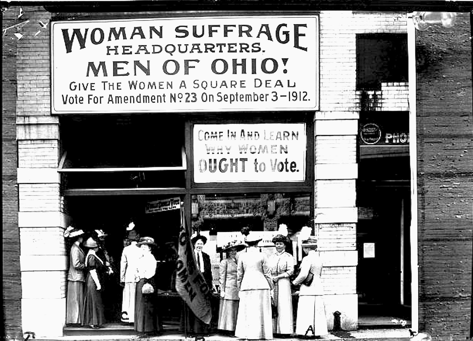 women s suffrage and women Woman suffrage and the 19th amendment en español background beginning in the mid-19th century, several generations of woman suffrage supporters lectured, wrote, marched, lobbied, and practiced civil disobedience to achieve what many americans considered a radical change in the constitution.
