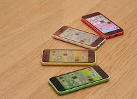 جوال Iphone 5c , شاشة 4 بوصات ,قرار 1136 * 640 بكسل