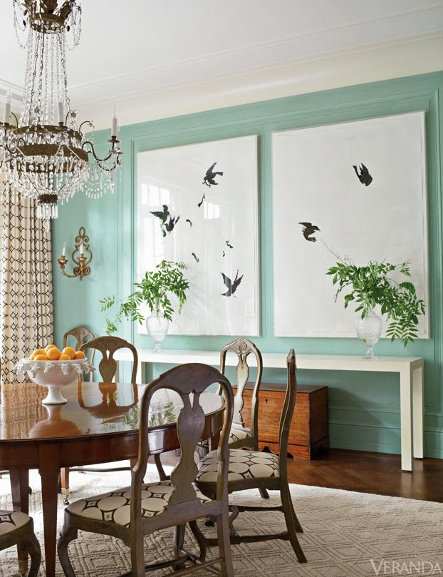 If you 39 re going to have a tiffany box blue dining room for Makeup by tiffany d dining room