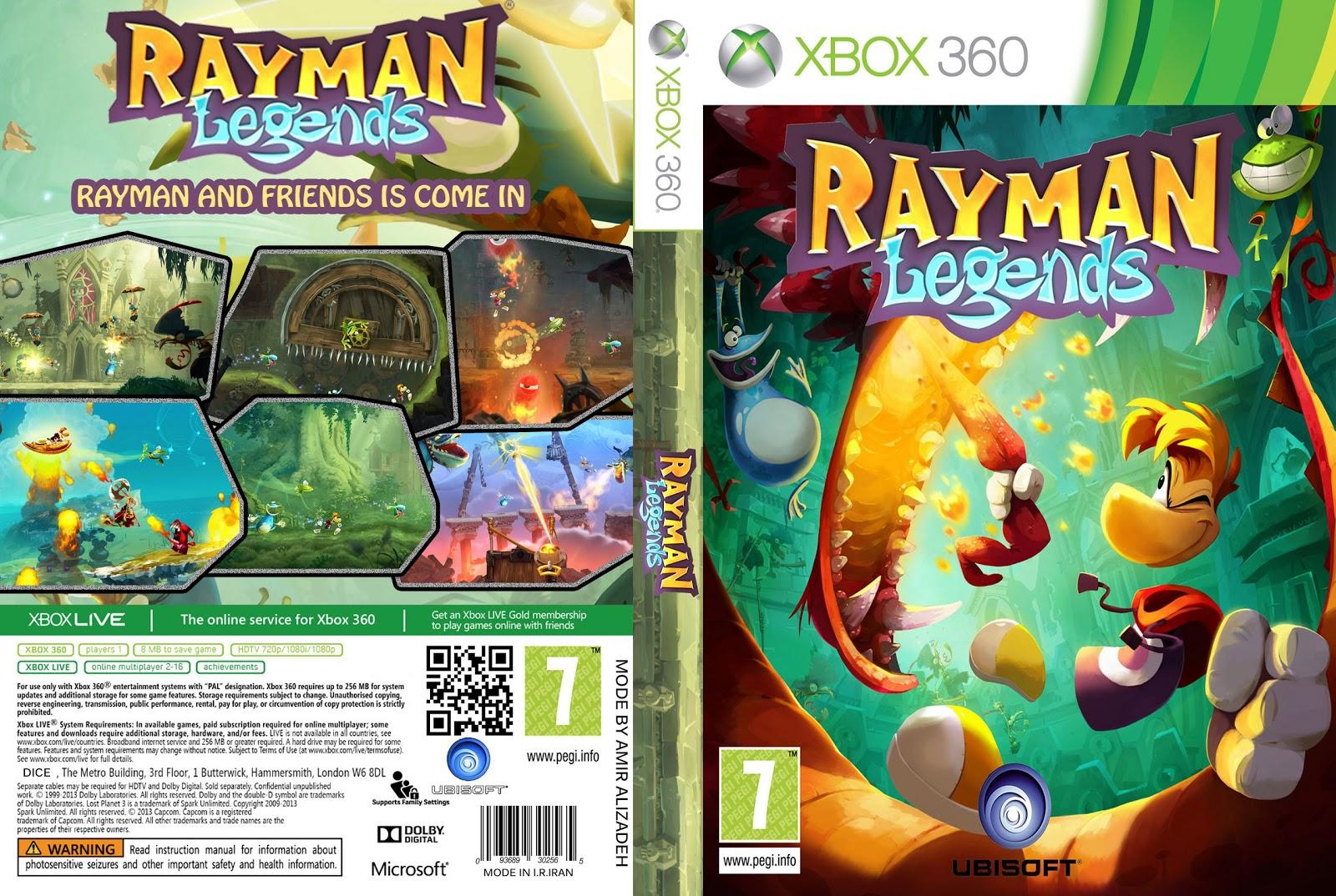 Downloads do edi: Rayman Legends