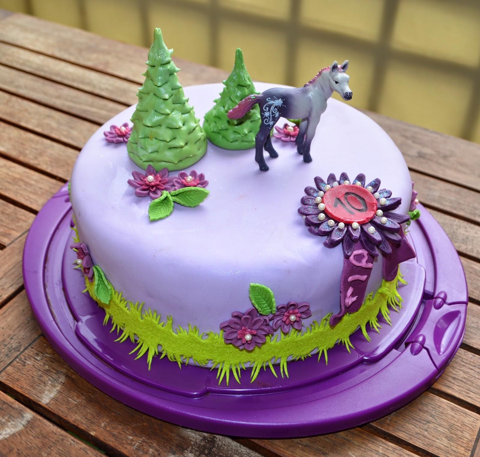 Aller Anfang Ist Pferde Geburtstags Torte