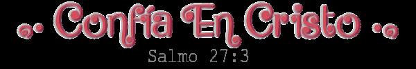 ๑• Confía En Cristo •๑