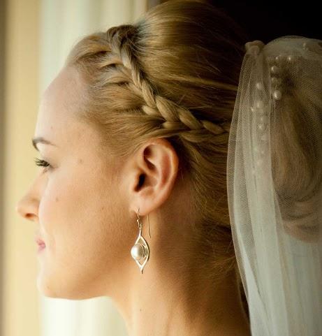 peinados de mujer, peinados para bodas, peinados para fiestas, peinados para una fiesta de noche, peinado con trenza para boda