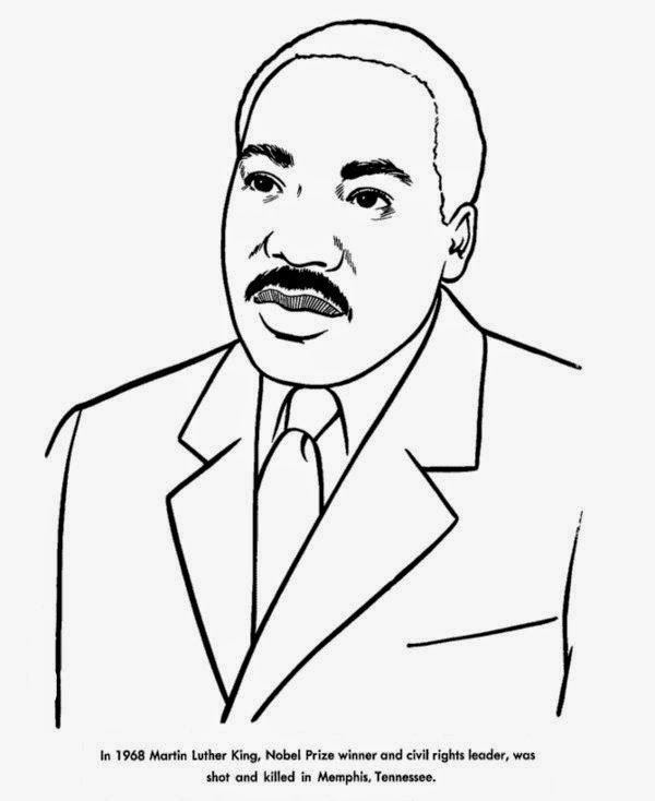Print Free Heroes Biography of Martin Luther King Coloring Pages ...